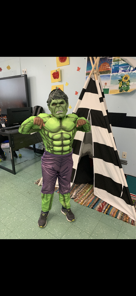 The Hulk costume