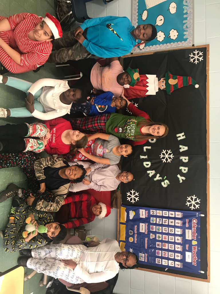 Pajamas, The Polar Express, Grinch cookies & hot chocolate = TONS of fun in Room 1!!